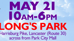 May 21, 10am-6pm - Long's Park